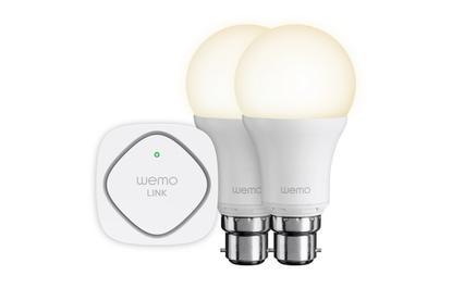 Belkin's Wemo LED Lighting Starter Set