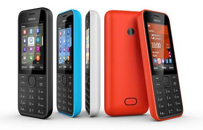 The Nokia 208 comes with one or two SIM cards.