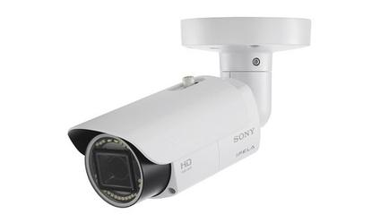 Sony's SNC-VB632D security camera uses infrared exposure to film in the dark.