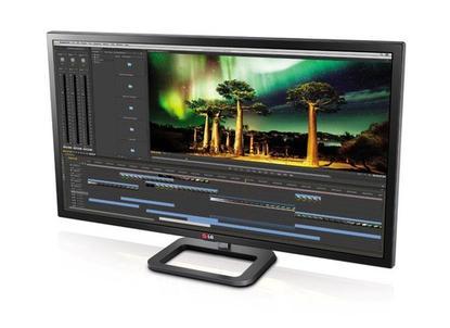 LG's 31-inch LG 31MU97Z 4K monitor with Thunderbolt 2 ports