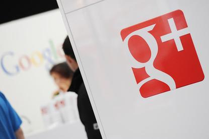 Google+ booth at Cebit 2012