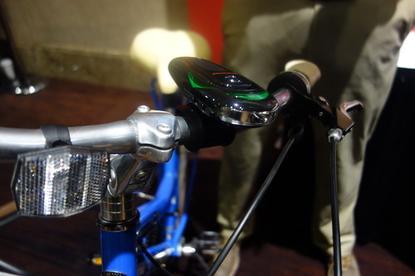 Schwinn's new navigational system for bikes.