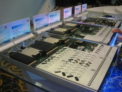 Servers from Huawei.