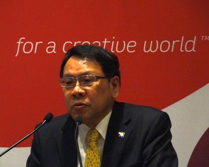 Wacom CEO Masahiko Yamada wants to create a common language for cross-platform handwritten input.