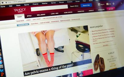 Yahoo said it would be shutting down its Shine women's lifestyle site.