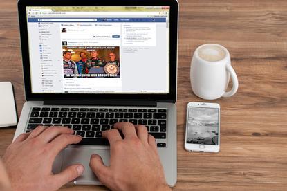 Facebook's News Feed.