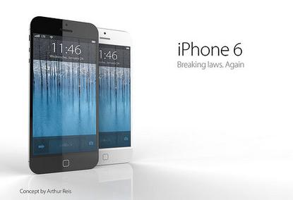 An iPhone 6 concept. (Image credit: Arthur Reis)