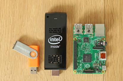 Intel's tiny Compute Stick PC