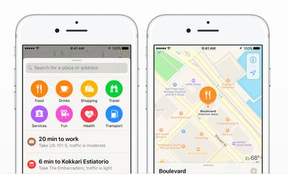 how to make google maps default on ios 10