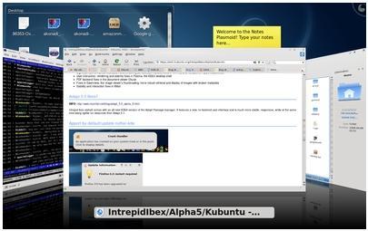Kubuntu 8.10 Intrepid Ibex ships with KDE4 only