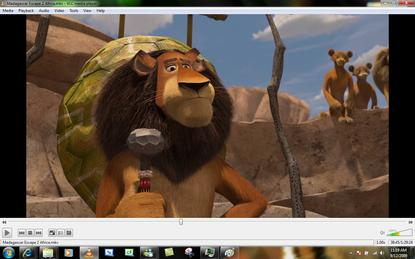 The VLC media player can handle most video formats