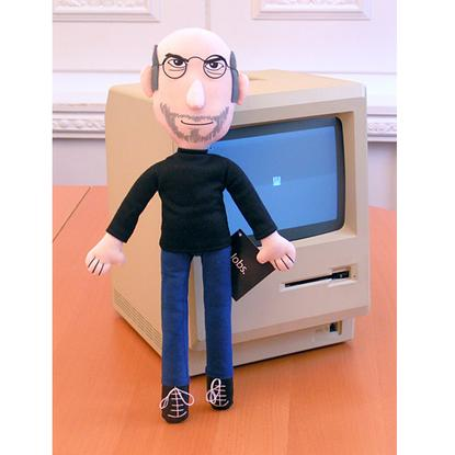 """Not on my watch..."" Jobs doll banned"