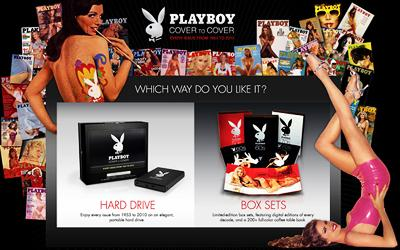 Bunnies on disk - Playboy's online promotion