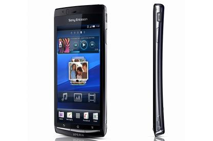 The Sony Ericsson XPERIA Arc Android smartphone