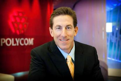 Polycom President and CEO Andrew Miller