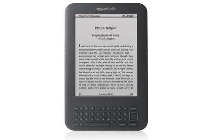 The Amazon Kindle 3.