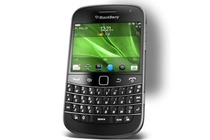 The BlackBerry Bold 9900, available through Optus from 1 September