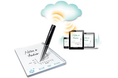 Livescribe's new Sky wifi smartpen syncs directly with popular, cloud-based note service Evernote.