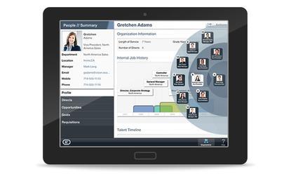 Oracle's mobile-friendly HCM Cloud