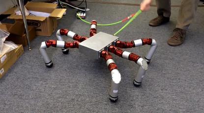 Carnegie Mellon University's Snake Monster robot is based on a modular design.
