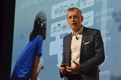 Ericsson Group CTO Ulf Ewaldsson spoke on Wednesday at Mobile World Congress in Barcelona.