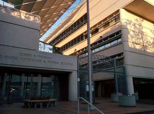 The federal courthouse in San Jose on April 29, 2014
