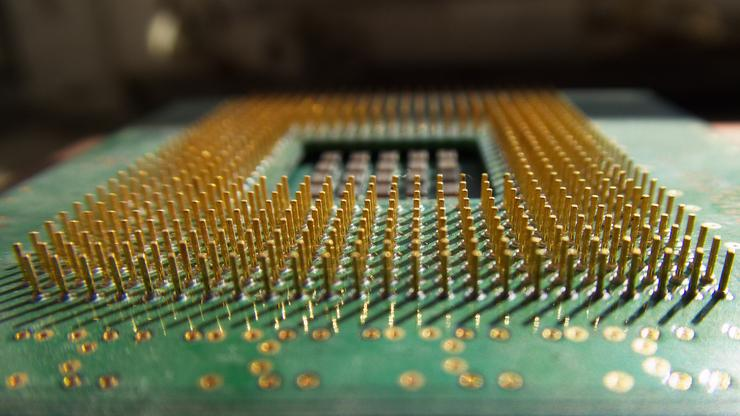 CPU made of transistors