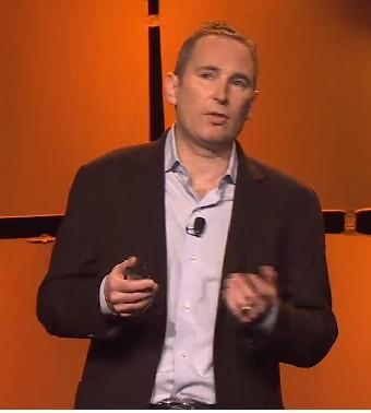 Andy Jassy, Amazon Web Services senior vice president.