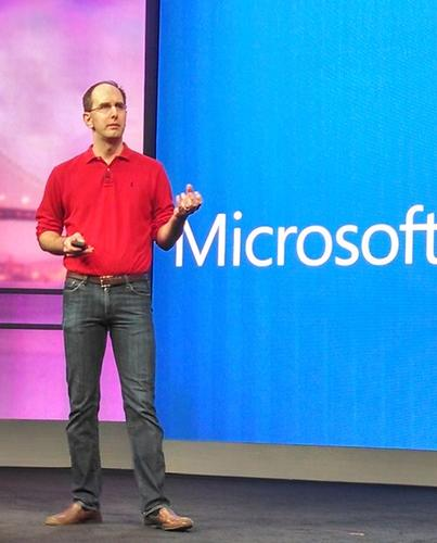 Scott Guthrie, Microsoft Executive Vice President of the Cloud and Enterprise group