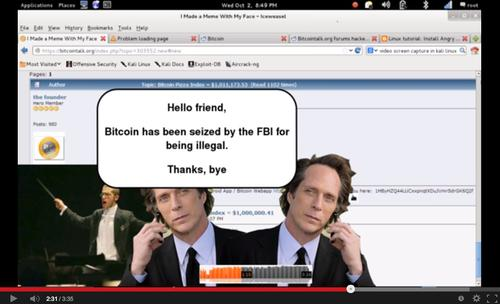 Bitcointalk.org, a popular forum for discussion of the virtual currency, remained offline as of Wednesday night after it was compromised.