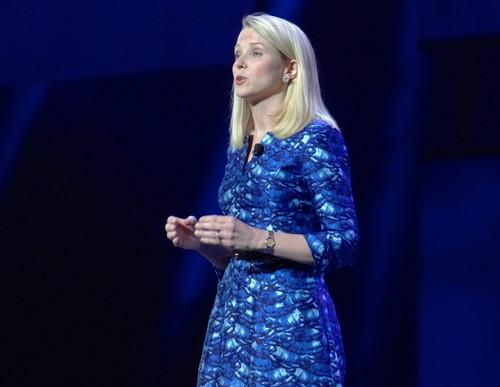 Marissa Mayer at International CES Tuesday