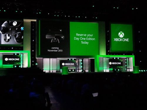 Microsoft's Xbox One game console will go on sale in November for $499.