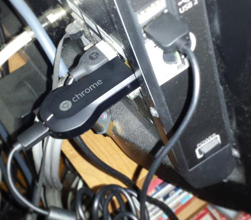 Chromecast Powered by USB