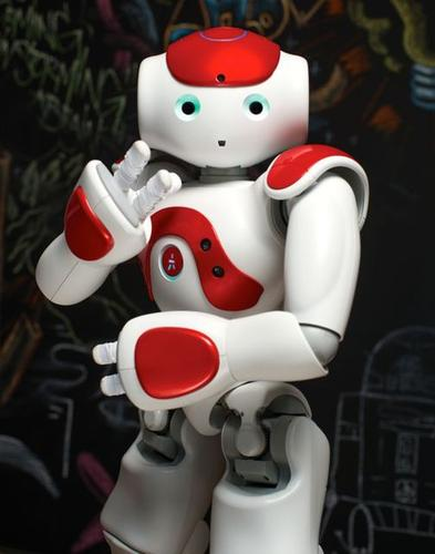 Aldebaran's latest version of its Nao humanoid robot has a longer battery life, stronger joints and improved face and object recognition.
