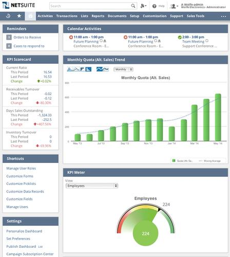 NetSuite is rolling out a new UI for its cloud ERP software.