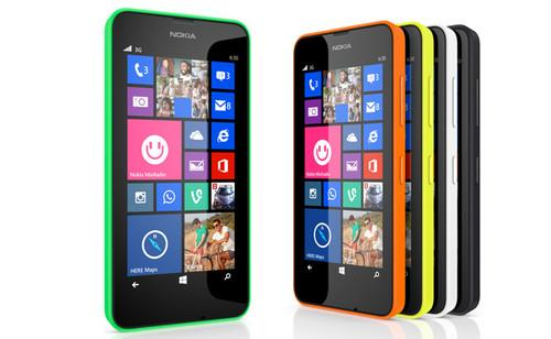 The Lumia 630, shipping this week in Asia, is the first smartphone to run Windows Phone 8.1