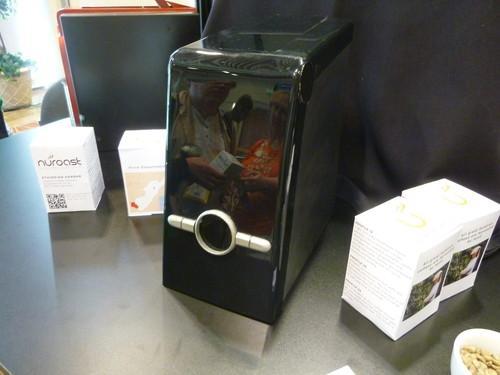 A prototype Nuroast coffee roaster on show at Demo 2013 in Santa Clara on October 16, 2013