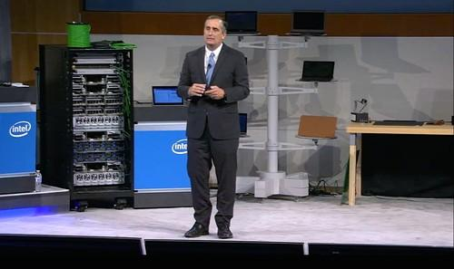 CEO Brian Krzanich at Intel's analyst day