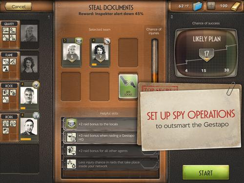 Spymaster takes place during World War 2.