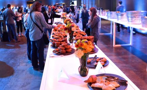 In addition to offering development tools at Flight, Twitter also offered food.