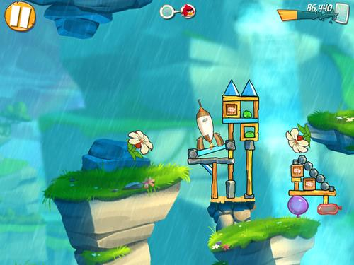 Angry Birds 2 for iOS.