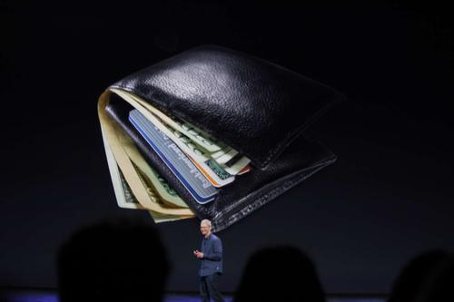 Cook announces Apple iPay