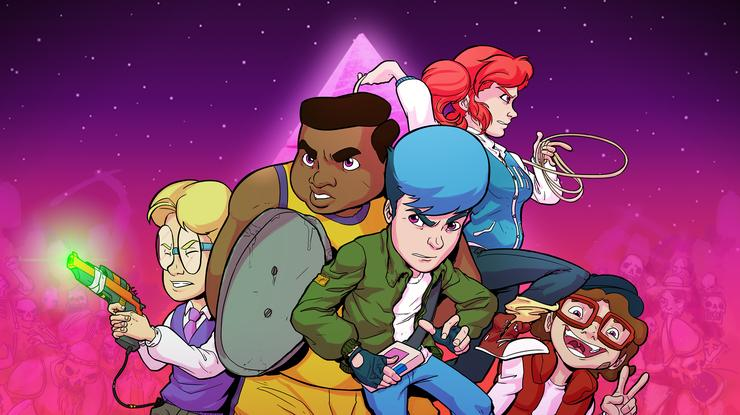 First Impressions Crossing Souls Tackles 80s Nostalgia In Ways That Few Video Games Attempt