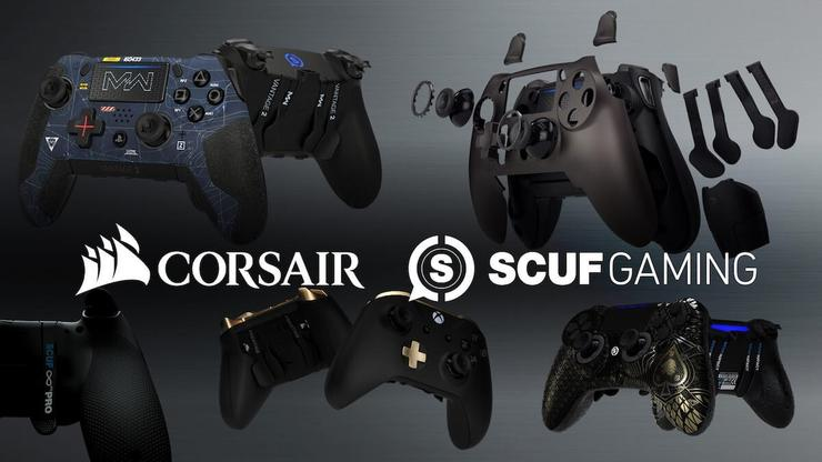 Corsair is buying Scuf, a maker of high-end gaming controllers