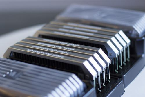Here's what 128GB of DDR4 looks like.