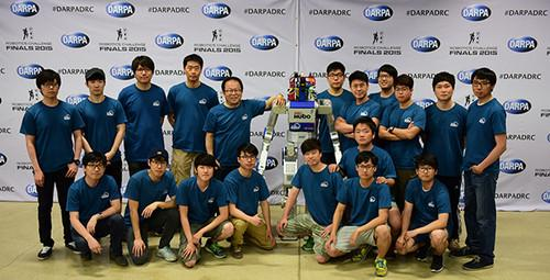 South Korea's Team Kaist won the DARPA Robotics Challenge on June 6, 2015