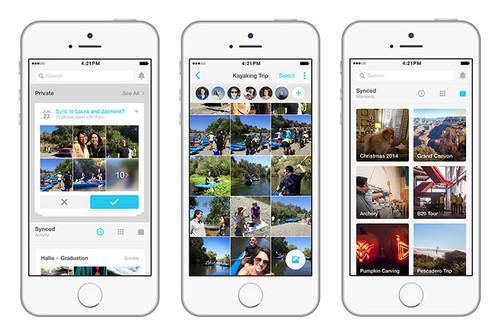 Facebook's new Moments stand-alone app provides a way for friends to share photos