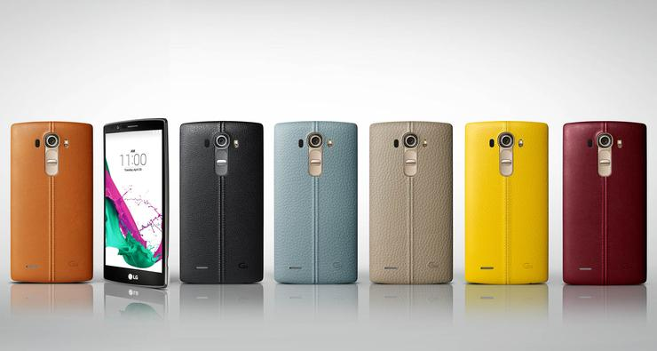 A total of nine different rear cases are available for the smartphone, of which six are leather and three are ceramic.