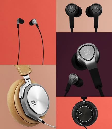 BeoPlay H3 buds and the BeoPlay H6 headphones