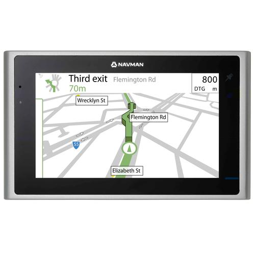 Navman's S-Series Platinum GPS units have appealing designs.